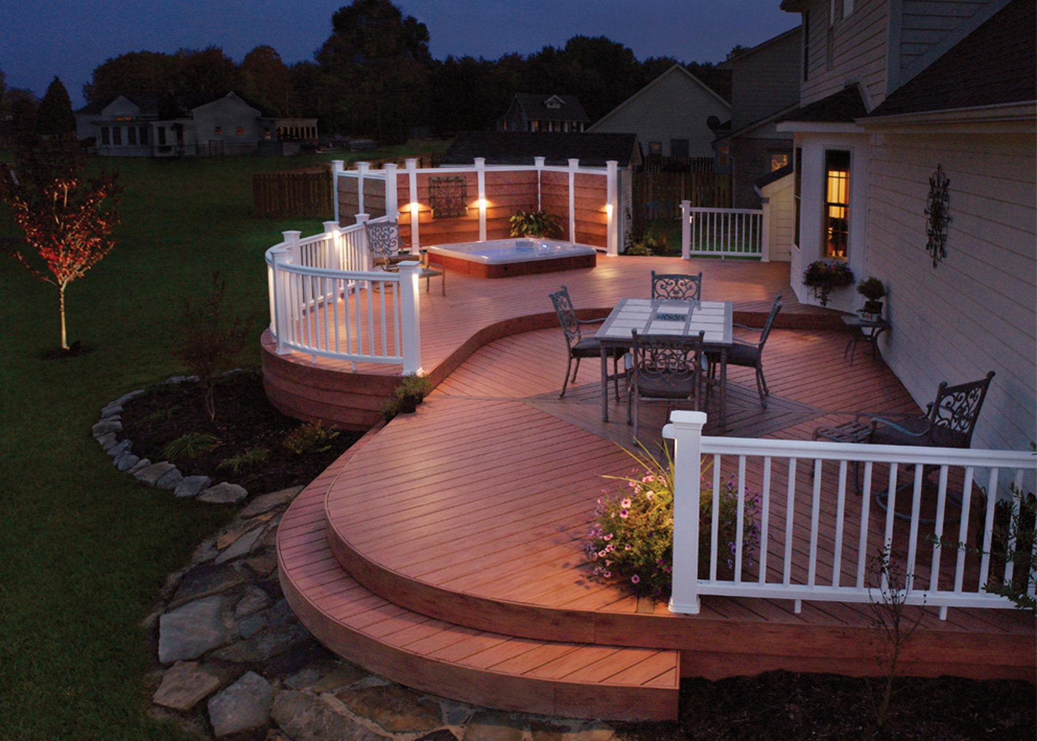 Deck and patio lights Lakeland FL